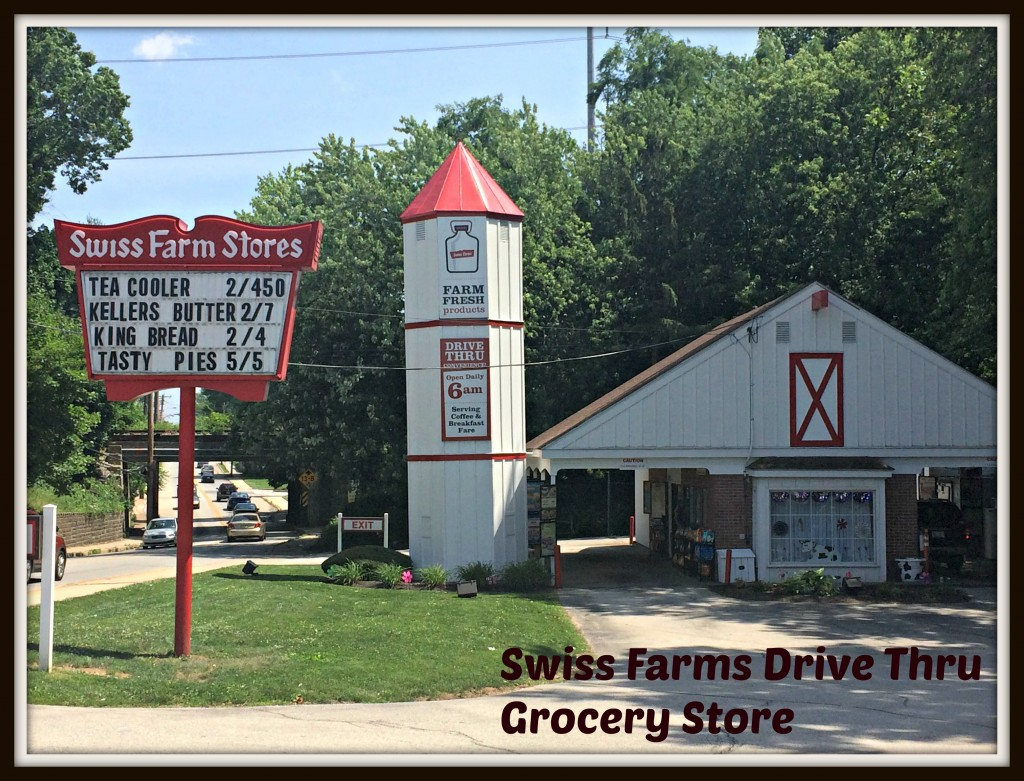 Swiss Farms DRive Thru Grocery Store
