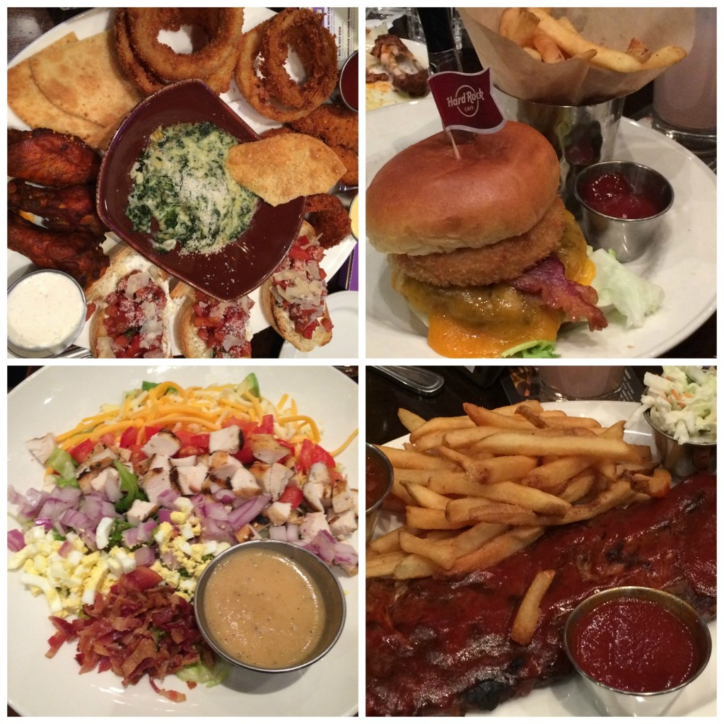 Hard Rock Cafe Menu Calories
