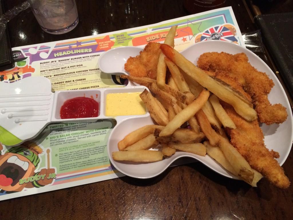 Hard Rock Cafe Menu With Calories