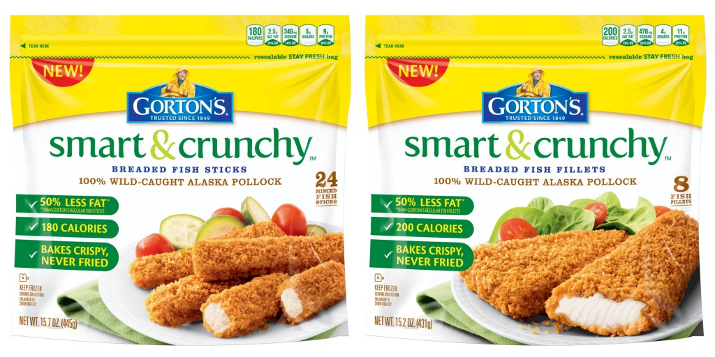 Gorton 39 s smart crunchy review giveaway smartandcrunchy for Gorton s fish coupons