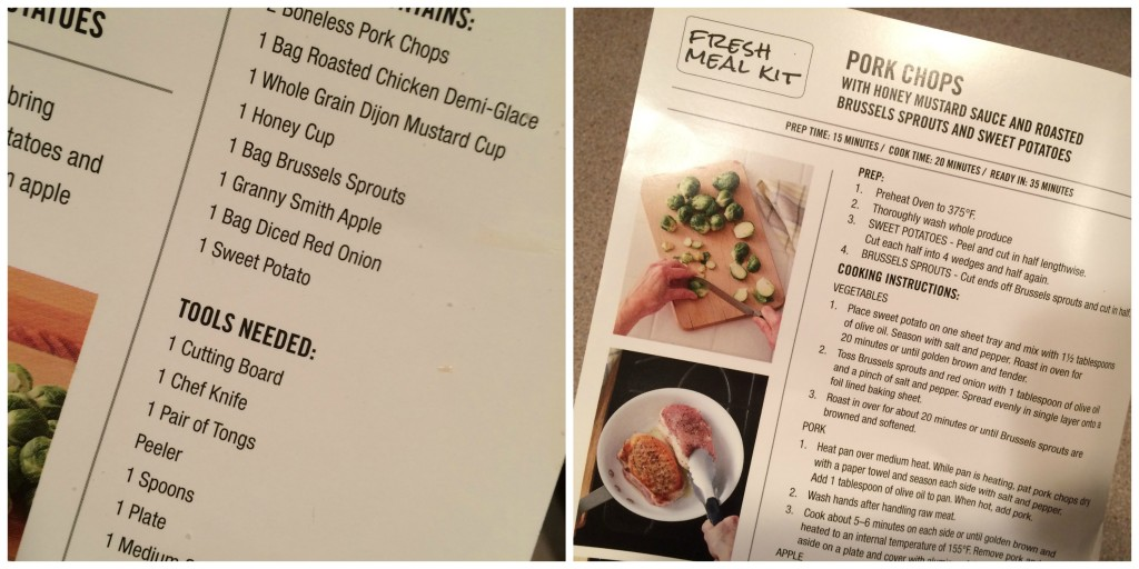 Meal Kit Recipe Collage