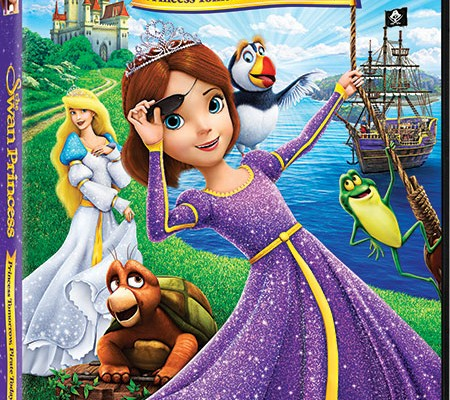 The Swan Princess: Princess Tomorrow, Pirate Today DVD {Giveaway}