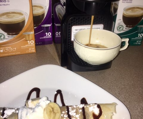 Celebrate Mom with a Coffee and Crepes Bar { & a Nespresso Giveaway}