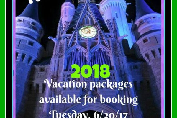 Five Reasons to Book Your 2018 Disney Vacation Now