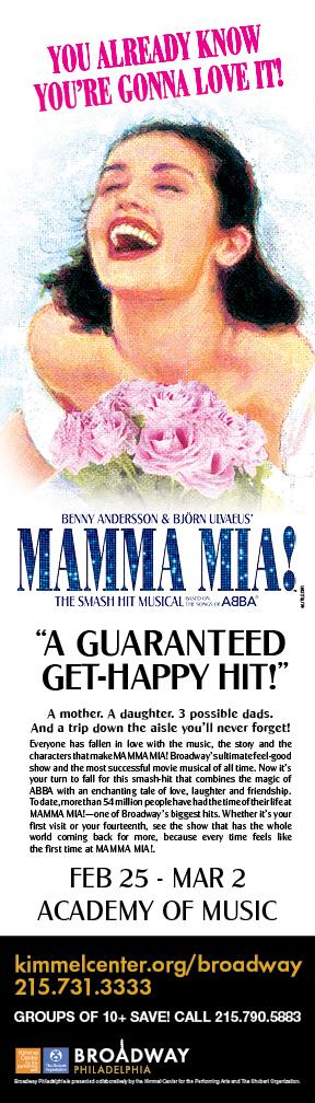 Mamma mia coming to the academy of music in philadelphia feb 25 mar 2 - Mamma porno diva ...